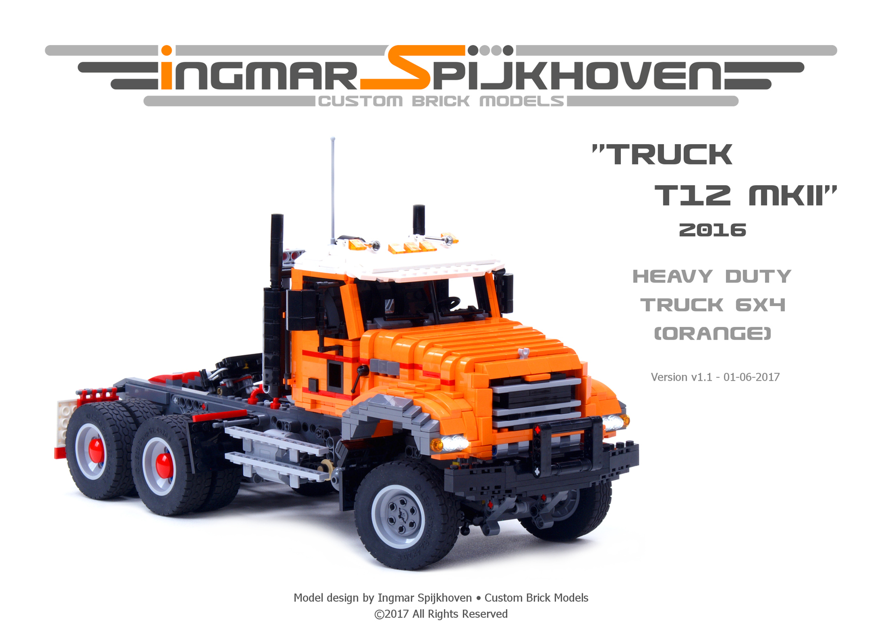 Instructions Truck T12 Mkii Products Ingmar Spijkhoven